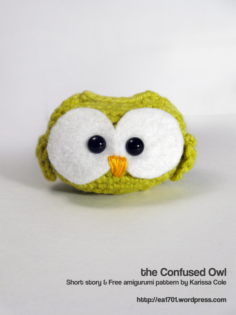 the Confused Owl - pattern and story by ex-astris1701