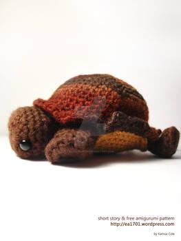 Tortoise amigurumi pattern