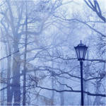 Misty Blue Day by DemonMathiel