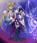 Hotaru, Usagi and Mistress9