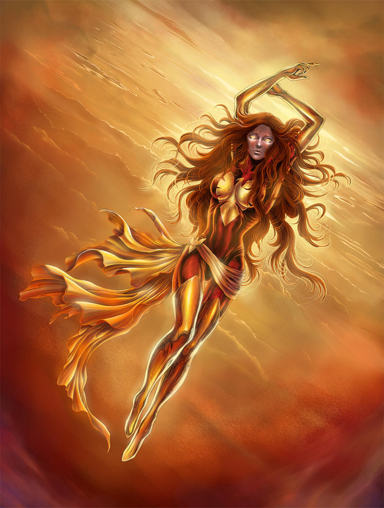Dark phoenix by SpaceWeaver