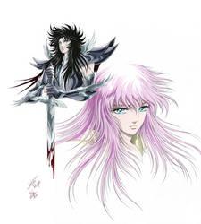 Hades and Saori