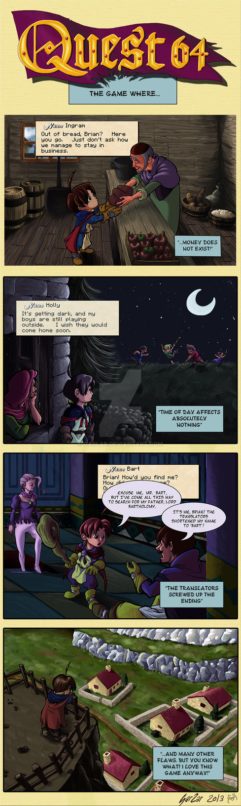 Commission - QUEST 64: The game where...
