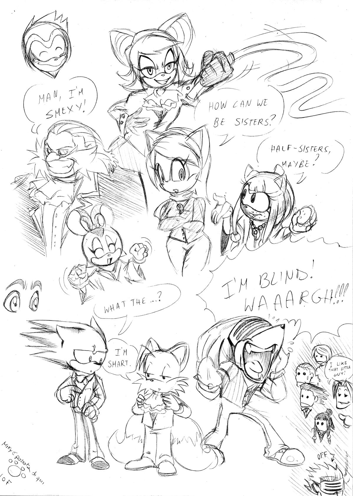 Sonic Wright - Speed Attorney by Garlar