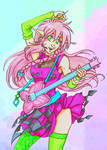 100 TLC 61 Playing the Melody color by GlyphBellchime