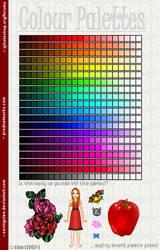 Colour Palette by SavingCleo