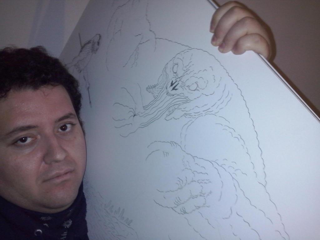 Abe Sapien (Hellboy) v.s. The Kraken 1