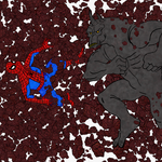 Horns of the Rhino. Spider-Man creado por Stan Lee