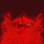Hellboy. Arte por Ramsel Santos Hurtado. Hellboy c