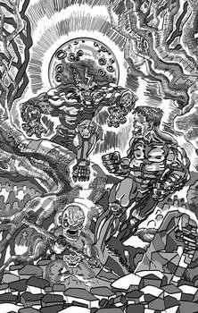 Frankenstein vs Wolfman (Tones N Values)