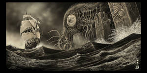 Cthulhu 1790. by fiend-upon-my-back