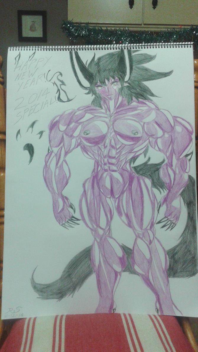 Female Behemoth by Ray-pyromancer