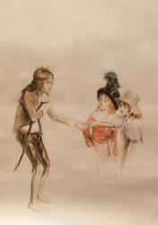 Beggar boy by medailon