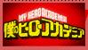 Boku no hero Academia Stamp