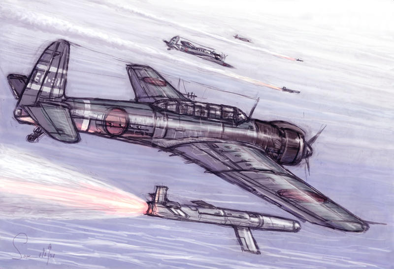 Flying Torpedo by hylajaponica