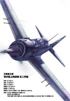 A6M5c Zero Fighter