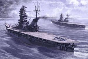 Fourth Carrier Division 1945 by hylajaponica