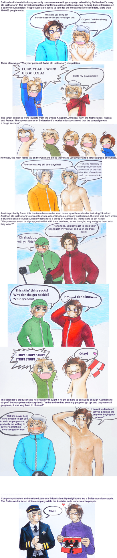 APH: Skiing is sexy by Cadaska