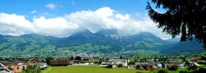 Swiss towns by Cadaska