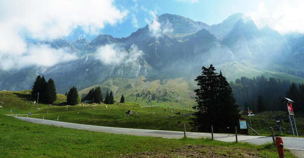 Swiss bus stop by Cadaska