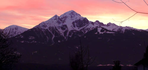 Austria at dusk