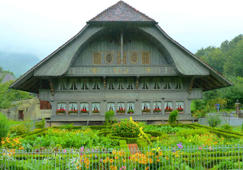Swiss house by cadaska on deviantart for Swiss homes