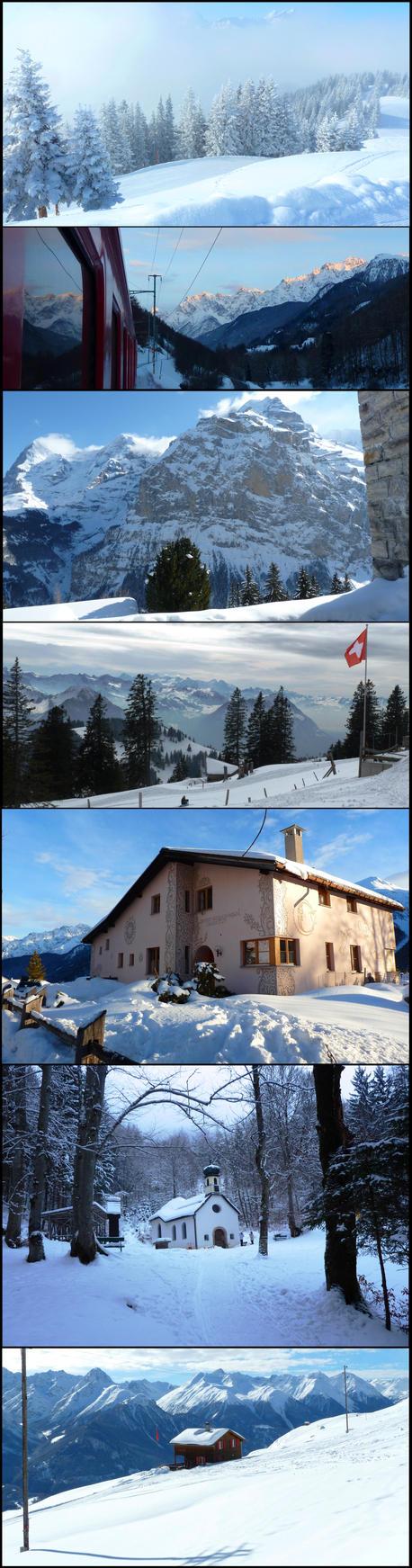 Swiss-Austrian winter by Cadaska