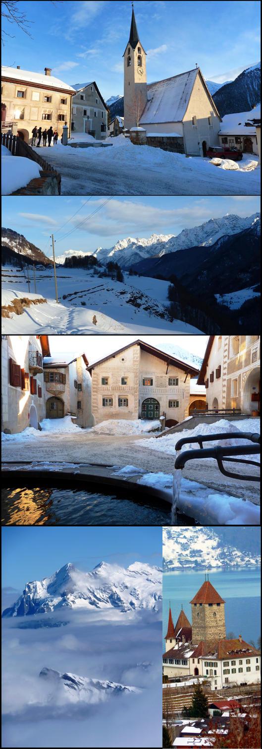 Swiss Winter by Cadaska
