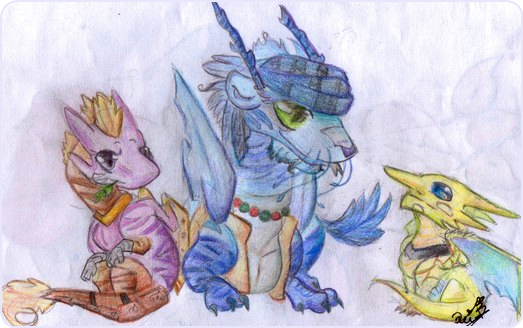 Chibi Group #1 by Utter-Sound