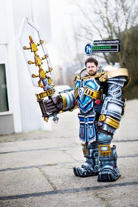 Steel Legion Garen Cosplay - DEMACIAAA by ArmyClicker on ...