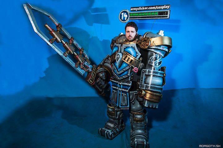 Steel Legion Garen Cosplay by ArmyClicker on DeviantArt