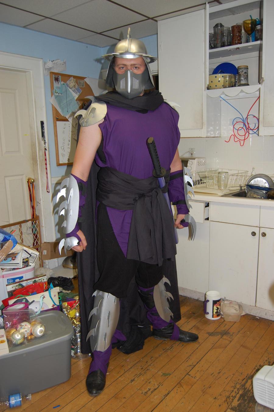 Shredder costume arisia 39 11 by captredjack on deviantart Which shredder should i buy