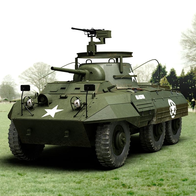 M Greyhound Armored Car For Sale