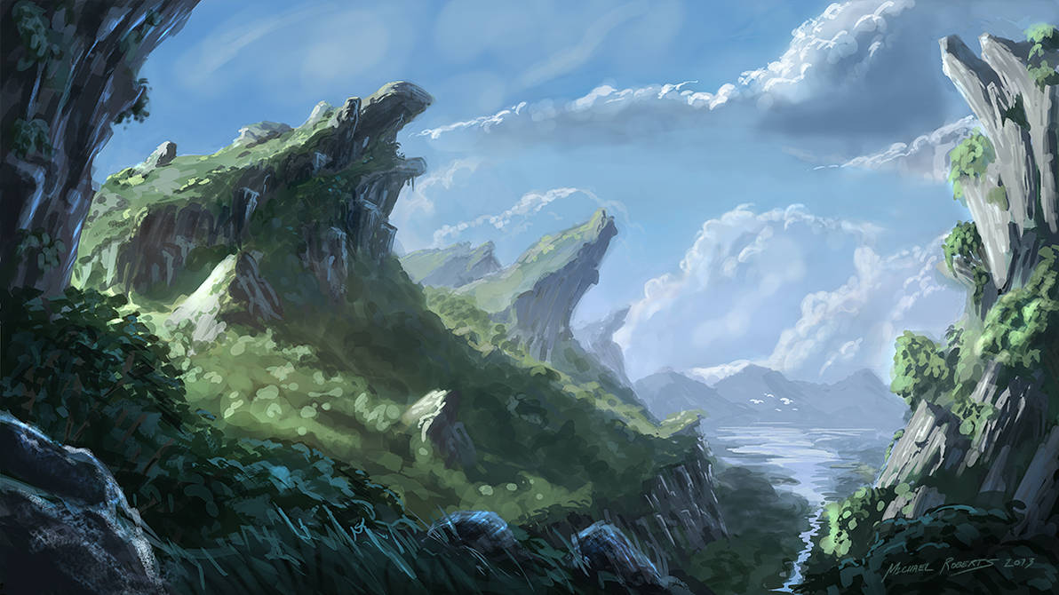 Rock Formations by armedrobot