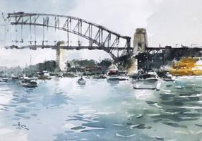 Harbour-Bridge-2015-by-tony-belobrajdic by artiscon