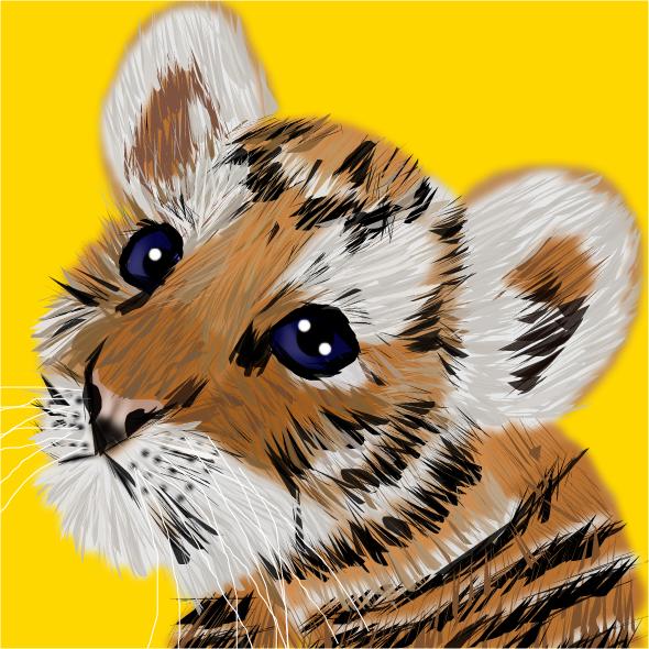 Tiger Cub by shellfish101