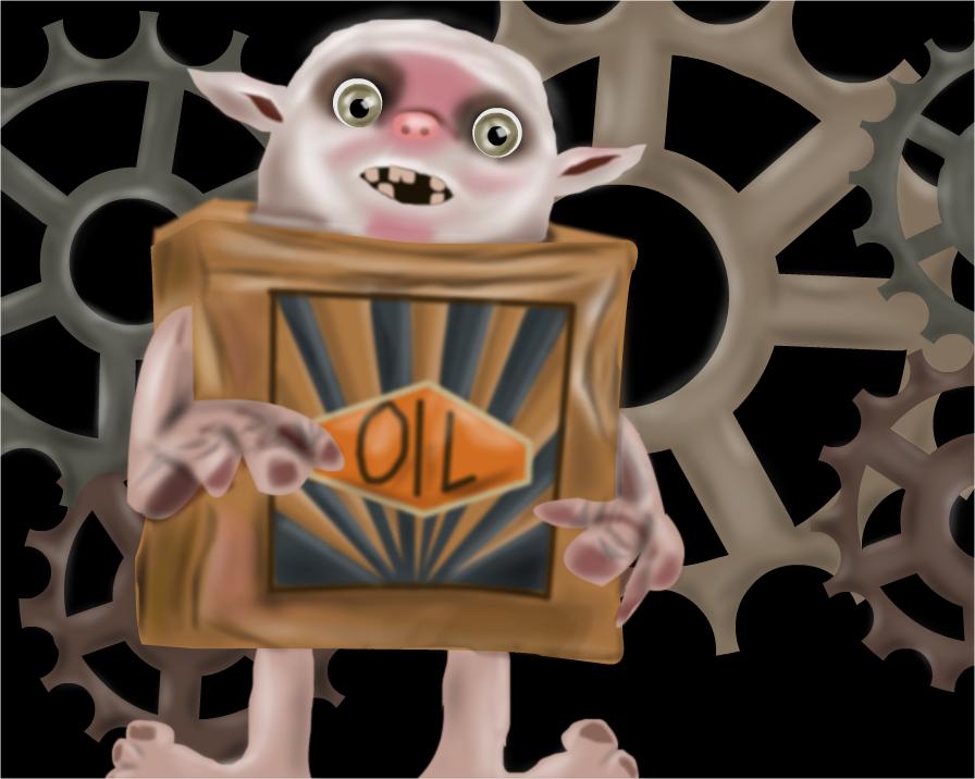 Box Troll by shellfish101