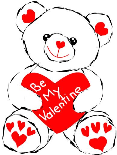 Valentine Bear by shellfish101