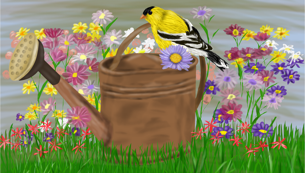 Watering Can by shellfish101