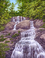 shenandoah Waterfall by Choedan-Kal