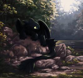 Night Fury by Choedan-Kal