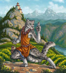 Tabaxi Monk By Choedan Kal On Deviantart Character tabaximonk commission concept dungeonsanddragons illustration leopard snowleopard snowwhite tabaxi art warriordigitalart. tabaxi monk by choedan kal on deviantart
