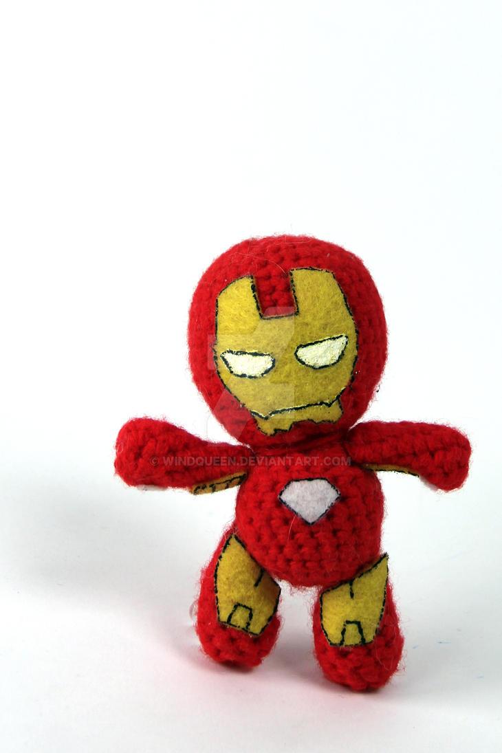 Iron Man Amigurumi Free Pattern : Iron Man Amigurumi by WindQueen on DeviantArt
