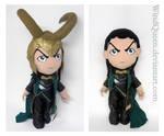 Giant Loki Plushie