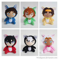 Voltron Paladin kitty Plush by WindQueen