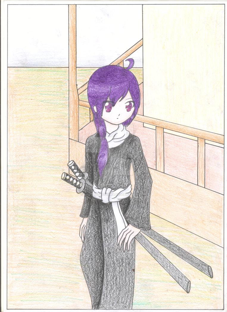 Fanart challenge - Saito Hajime by LegendzAonuma