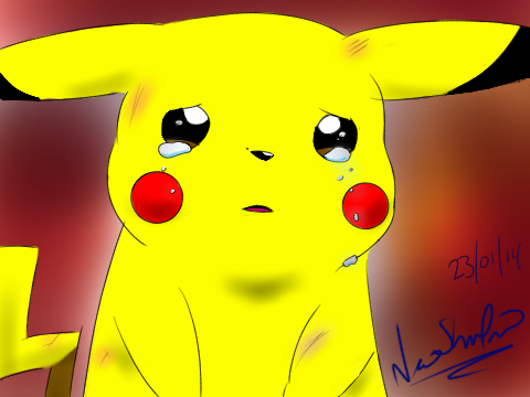 Sad Pikachu (First Movie) by Over9000-Chilidogs on DeviantArt