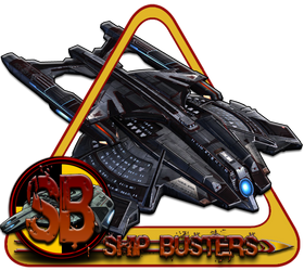 Ship Busters Logo by bankruptstudios