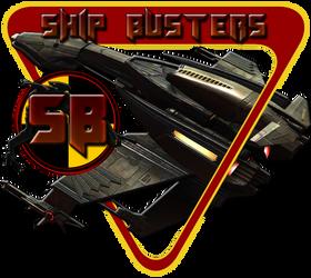 Ship Busters Klingon LOGO by bankruptstudios