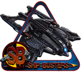 Ship Busters Logo Fed 2 by bankruptstudios